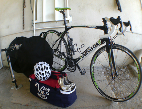 Vélo révisé et propre, roues pour le dépannage et pompe à pied... vous êtes enfin prêt pour partir en course!
