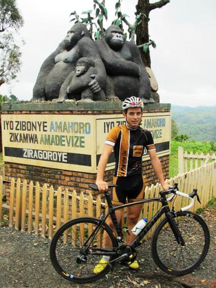 Pierre Bourlot était présent au Tour du Rwanda