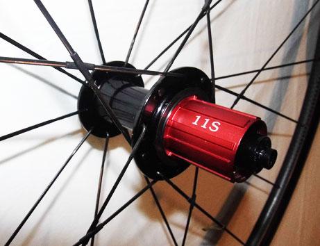 Les moyeux Gipiemme sont compatibles 9, 10 et 11 vitesses