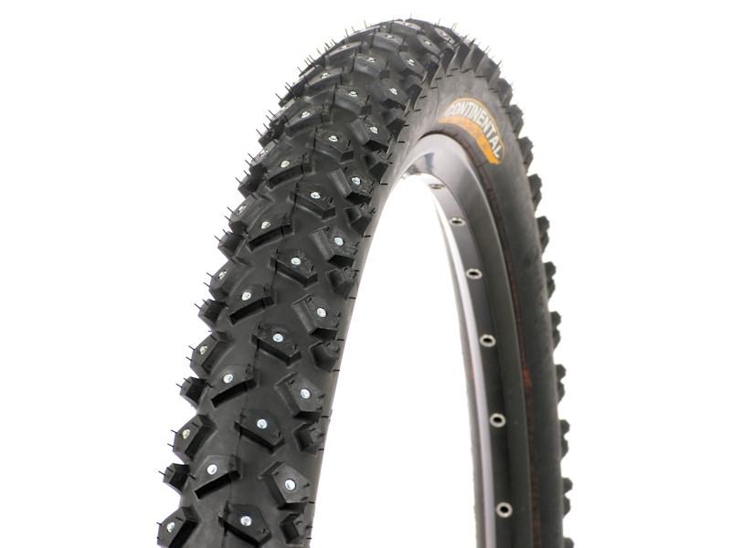 Continental fabrique des pneus cloutés pour VTT et vélos de ville